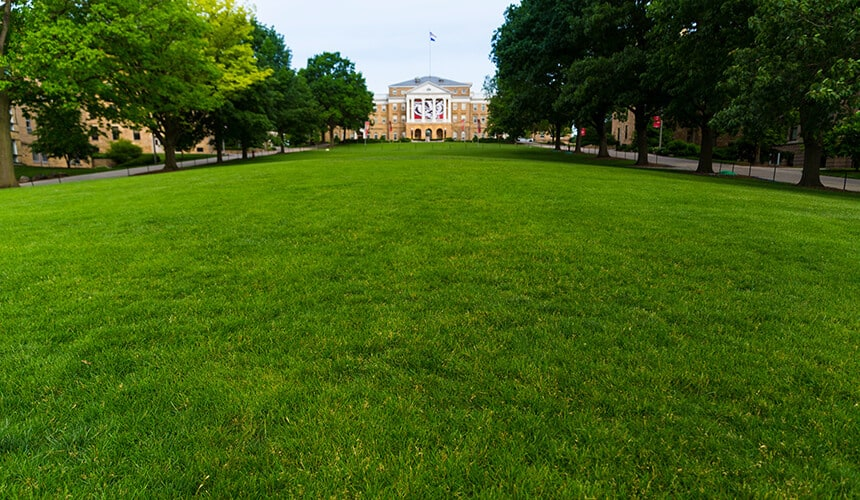 Photo of Bascom Hall. Image courtesy of University Communications
