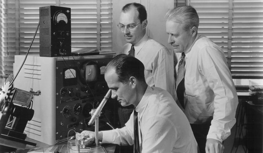 Bardeen with his co-researchers.